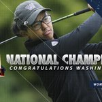 NATIONAL CHAMPIONS! Julianne Alvarez clinches it on 20th hole to secure Washingtons first #NCAAGolf Championship! https://t.co/NJ9y6bPpVU
