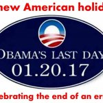 A new American Holiday. 1/20/2017 Celebrating the end of an ERROR #Trump2016 https://t.co/VP4CTzjmrx
