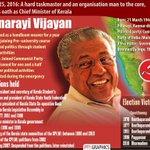 New CM of #Kerala #PinarayiVijayan. https://t.co/OlmI5ZUYtQ