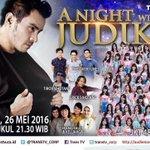 "Malam ini JKT48 akan ikut mengisi keseruan acara ""A Night with Judika"" LIVE pukul 21.30 WIB https://t.co/itr2529Eud #JKT48ANightWithJudika"