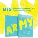 #방탄소년단 #BTS Global Official Fanclub A.R.M.Y 3기 Membership Kit @BTS_twt @bts_bighit https://t.co/zVhc6p16nE