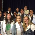 Senior thespian honor cords were awarded at our annual awards assembly today by NHS Drama Mama ~ Mrs Paris! ???????????? https://t.co/tQbKYs5IGx
