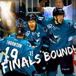 Sharks take down Blues, 5-2, advancing to their first Stanley Cup Final appearance in team history! https://t.co/sm6NQdaTFz