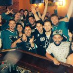 There are some VERY happy @SanJoseSharks fans here in NYC right now! #RingingTheBell???????? https://t.co/uQ8cZaTv95