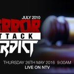 Do not miss: A live broadcast of the 2010 terror court verdict today, 9:00am Watch online: https://t.co/DrRiJNliS6 https://t.co/Uijq4FVwA6