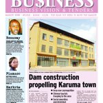 IN the Business pull out see how Dam construction is propelling Karuma town.Get a copy now https://t.co/GbebMAkP77 https://t.co/Sc2aLsnavA