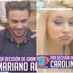 GRAN HERMANO 2016 Mariano y Carolina, eliminados del juego por decisión de la producción https://t.co/0PQPmgKELE https://t.co/fDevWztbyq