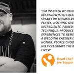Meet #Industrys Joe Topper, Head Chef at @BirchtreeCaters in Philadelphia, PA #InspiredByPassion https://t.co/6oAjiq4k8y
