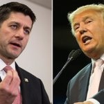 """Paul Ryan isn't ready to endorse Donald Trump: """"I dont know where all this is coming from"""" https://t.co/1rkfNVSTky https://t.co/P5YswoIadM"""
