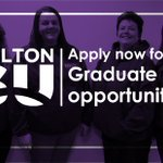 We are seeking 3 @BoltonUni graduates to join our team! Apply now at https://t.co/veY016W38B #LoveStudentLife https://t.co/S151Alz3hj