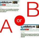 Estas son las dos caras de la misma moneda.No es extraño.También @CiudadanosCs y @PPopular lo son #RiveraCamaleón https://t.co/x7L50DtCYU