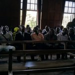 Family & friends of 2010 #Kampala bombing suspects inside the High Court. Verdict expected today. #AlShabab https://t.co/YLtgx5DM3p