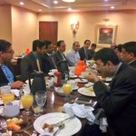 Minister KTR had a breakfast meeting with Indian Community Leadership of Iowa, at Des Moines today. https://t.co/QiAZ3UqcHS