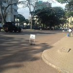Roads heading to the high court all closed, minimal business in the area. #TerrorAttacksVerdict https://t.co/Ym9DwBQJLT