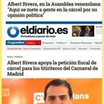 Hola @Albert_Rivera se te olvidó que en España apoyaste encarcelar a unos titiriteros! #CuñadansInAction #Populista https://t.co/IhOrjWNTgq