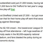 Just for the record @SUFC_tweets took 27,000 to Wembley in 2012, Just saying :-) #SWFC https://t.co/q4IpNJz853