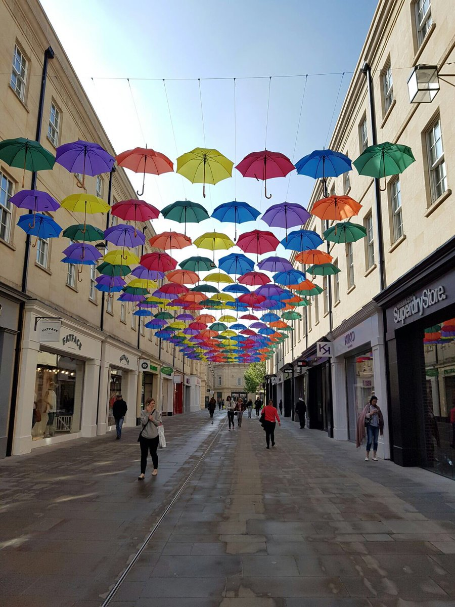 Wow @SouthGate_Bath you look amazing! https://t.co/7hUqwLNKuV