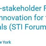 Coming soon: 1st Multi-stakeholdr Forum on #science, #technology & #innovation 4 the #SDGs: https://t.co/1LD36UmfzJ https://t.co/YFFjMNJH5D