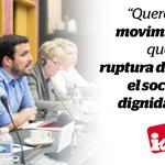 Queremos una @iunida partícipe en la ruptura, no relegada a ser la izquierda dócil del régimen #IUxUnNuevoPais https://t.co/NHn1xCKx6O