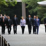 #G7 、主要7カ国と言っていながらなぜ7人ではなく9人いるのかという声を聞きましたので。7ヶ国の首脳に加えて、EU(欧州連合)のトゥスク欧州理事会議長と、ユンカー欧州委員会委員長が参加しているので9人なのです。 https://t.co/1AKnasdyLW