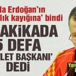 """Yargıtay Başkanı'ndan büyük skandal! Erdoğan'a 1 dakikada 5 defa """"devlet başkanı"""" dedi... https://t.co/KqDQLWH01C https://t.co/ijOrvwvzAv"""