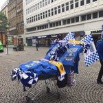Wembley fever is gripping Sheffield. Come and join me in Fargate #SWFC fans. #starlive https://t.co/SVOXkwjGDD