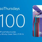 Best day of the week. RT & FLW fo the chance to win a £100 Tesco voucher. #EssoThursdays https://t.co/EcQP7tKol8 https://t.co/DoJhTGftf1