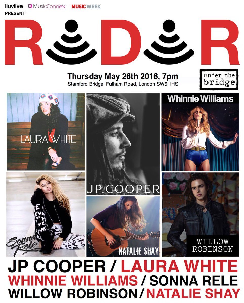 TONIGHT: #RADAR showcasing the best in new music presented by @MusicWeek  Doors 7pm Tickets https://t.co/ybFfHfX524 https://t.co/N8HCOgqHGv