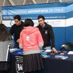 La #Promoción #UnACh se vive en la Feria Universitaria del #Colegio #Adventista en #Concepción #CADEC https://t.co/dEouSxQbPV