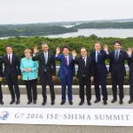 #G7 leaders gather at #IseShima #Japan reaffirming shared values https://t.co/FFF8KRiEB6