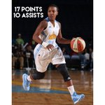 Former Lady Eagle Jamierra Faulkner had a big night for the Chicago Sky with 17 points and 10 assists! #Soaring https://t.co/WwF734Bl5M