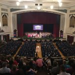 A PACKED #Lowell Memorial Auditorium for @middlesex_cc Commencement 2016 #MCCGrad #Bedford #Lowell https://t.co/nTJX7K7rY1