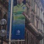 Milaan is klaar voor de finale van de Champions League en daarbij is er ook plaats voor @KAAGent in het straatbeeld https://t.co/6nrPnZ5BuL
