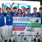 Suntex Sports juara badminton 100PLUS | Sukan