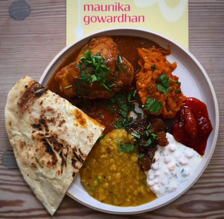 So tasty @cookinacurry thank you for lunch https://t.co/6o20xma0VT