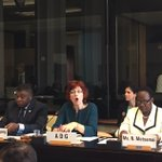 Making history together - great lineup at 1st ever @IPUparliament event at #WHA69 #ACommonCause #EWECisME https://t.co/2MtKOe82AF