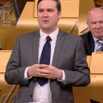 Embarrassing for SNP MSP Tom Arthur who has come to work in a childs tie. https://t.co/nv4yXGHLzk