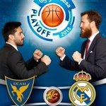 AGENDA Domingo / 20:30 horas / Palacio @UCAMMurcia vs @RMBaloncesto 2º partido 1/4 final Playoff @ACBCOM https://t.co/9sqRmKfpaU