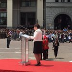 At national day @tinakhidasheli acknowledges descendants of those who struggled for Georgia independence in 1918 https://t.co/LODZ5ztCU1