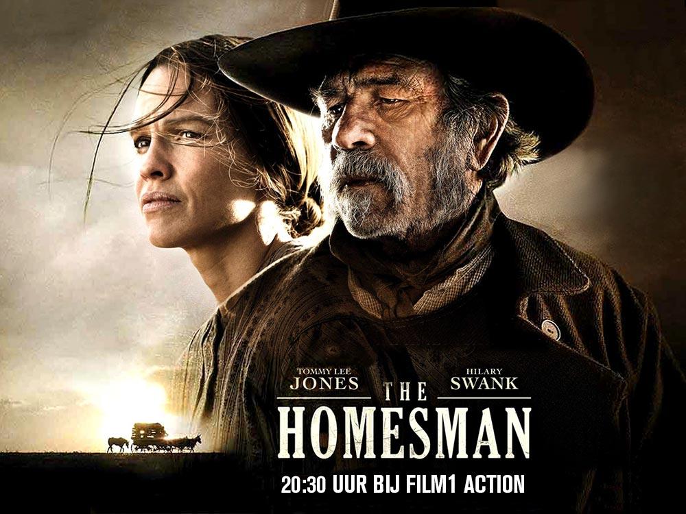 Reis vanavond voor de laatste keer af naar het Wilde Westen met Tommy Lee Jones  en Hilary Swank in The Homesman. https://t.co/V1of5dpVeM