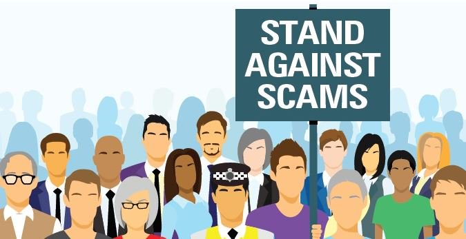 Take a #StandAgainstScams and become a #Scambassador https://t.co/xlKJFdDtGN https://t.co/0Mpsc5AuKE
