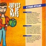 Este es el programa de hoy de la Feria Internacional del Libro Infantil y Juvenil de Providencia. Pque. Bustamante. https://t.co/1d4f82y1T8