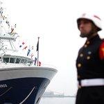 Buque Cabo de Hornos zarpa con 14 científicos a estudiar marea roja https://t.co/7fCbSMZriN https://t.co/gmYZGmB42P