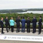 どんな話をしているんでしょうね。 #G7 #伊勢志摩サミット https://t.co/1CTOeJzgKY