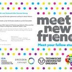 Wir sind dabei: Lange Nacht der Wissenschaften an der @tudresden_de 10. Juni mit #Meetnewfriends #Dresden #Sachsen https://t.co/JweZhLtTIF