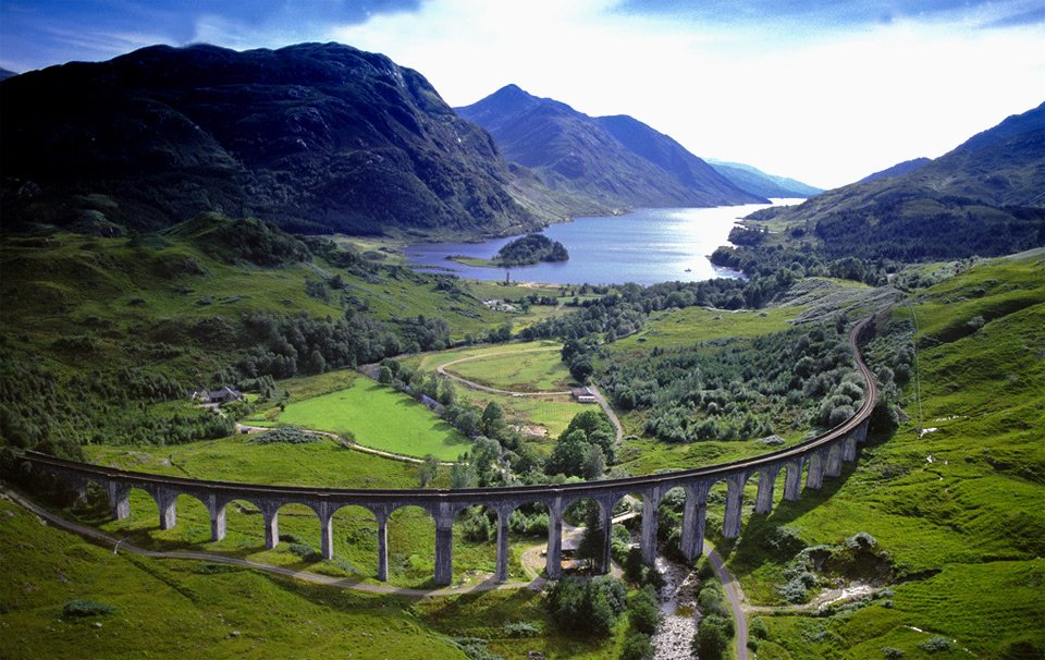 19-Century Highland Railway, Scotland | Photography By ©Jason Hawkes https://t.co/LgR5d2j2bW