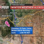 Heavy snow expected on Pikes Peak this afternoon through Friday. #cowx #kktv https://t.co/jKFGPxfms6
