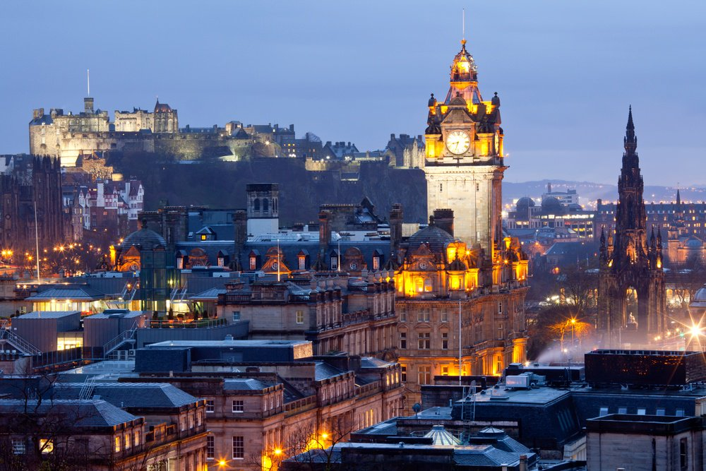 New service bringing Delta2Edinburgh starts today.