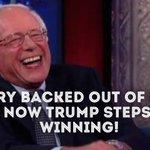 Hillary Clinton must be sick about the #BernieTrumpDebate It aint over til its over. @BernieSanders #FeelTheBern https://t.co/tFzhRaR9YC