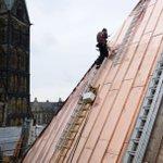 Über den Dächern von #Bremen - Rathausdachsanierung geht voran https://t.co/0TnVSyr6yp @UNESCOWelterbe @bremen_de|PL https://t.co/jKZiApZN03
